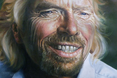 RICHARD BRANSON - BEHIND THE GRIN
