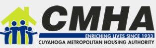 CMHA logo, Cuyahoga Metro Housing Authority, Section 8 vouchers, ohio rental managers
