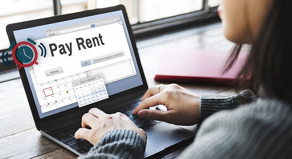 paying rent property management services