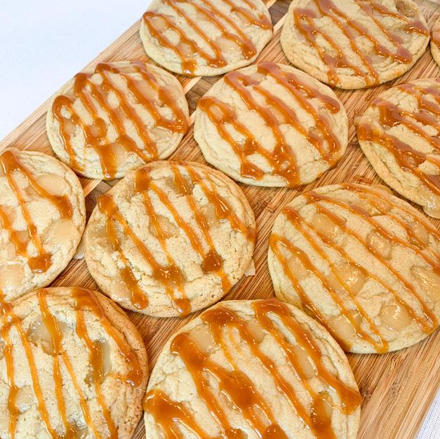 Ooey Gooey Caramel Cookies
