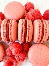 Raspberry Macarons.JPG