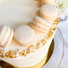 Mini Mac Bridal Cake