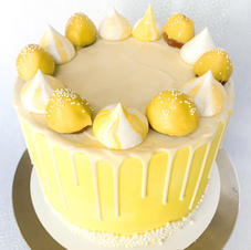 Yellow Strawberry Cake