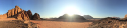sunset near the camp - Wadi Rum