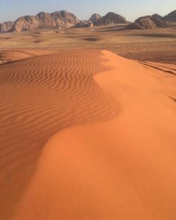 sand dunes - Wadi Rum
