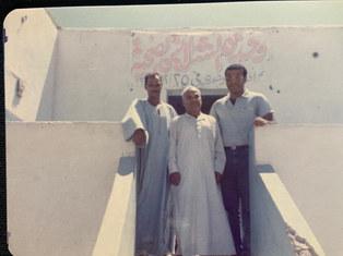 افتتاح عيادة في الشلاتين ، دكتور وائل في تكليفه هناك بعد التخرج من كلية طب بالقاهرة
