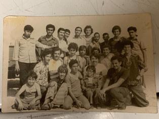 شلة مصرين في قطر في اواخر السبعينات
