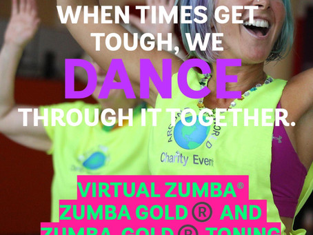 ONLINE ZUMBA/ZUMBA GOLD AND ZUMBA GOLD CLASSES WITH TEAM RACHEL!