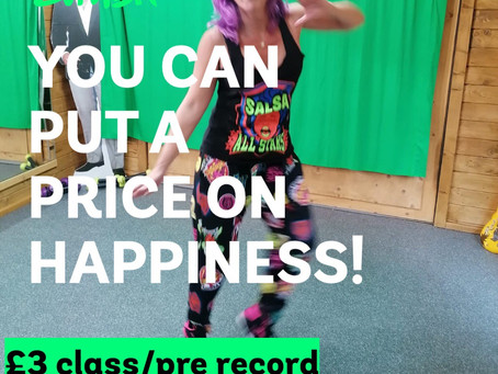 Team Rachel Zumba classes Live on Zoom and available on Pre Recorded 24 hr links too!!!