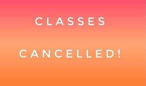 Classes Closed