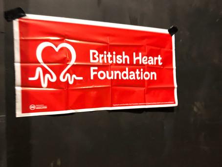 Heartfelt Zumba Team Rachel raises over £2600 for The British Heart Foundation ❤️