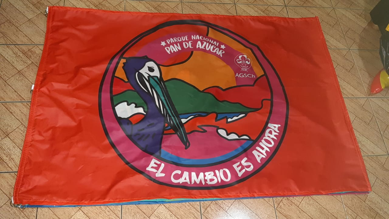Banderas sublimadas personalizadas