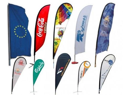 Banderas sublimadas