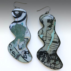 Gray green graffiti earrings_edited