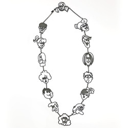 Cartoon Neck Long Necklace