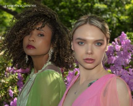 STYLISTS MAÍSA AND NATALIA GOUVEIA PAINT NYC WITH THEIR SPRING COLLECTION  Design @maisagouveiaestilista Model @inna_kachanko Jewels @bijoubrazil HMU @makeuppacha Photo @marcosvasconcelosnyc Publication @fashionmagazinenyc