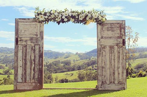 rustic character wedding hire sydney wedding arches
