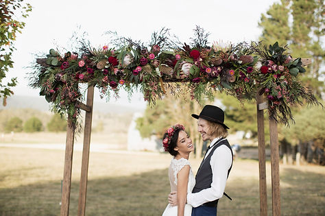 rustic character wedding hire sydney wedding arches