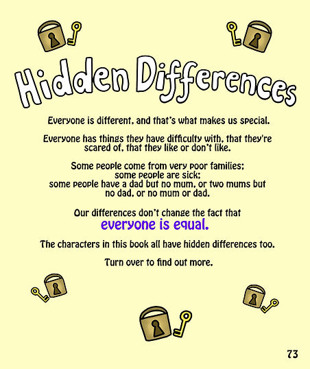 Diversity and hidden differences explained for children