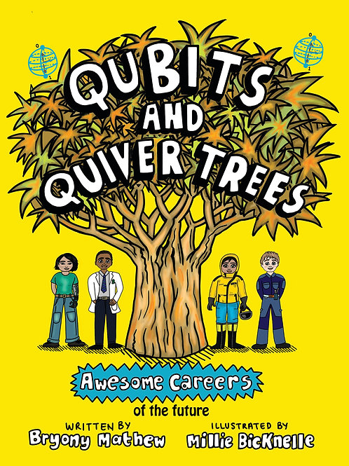 Qubits and Quiver Trees
