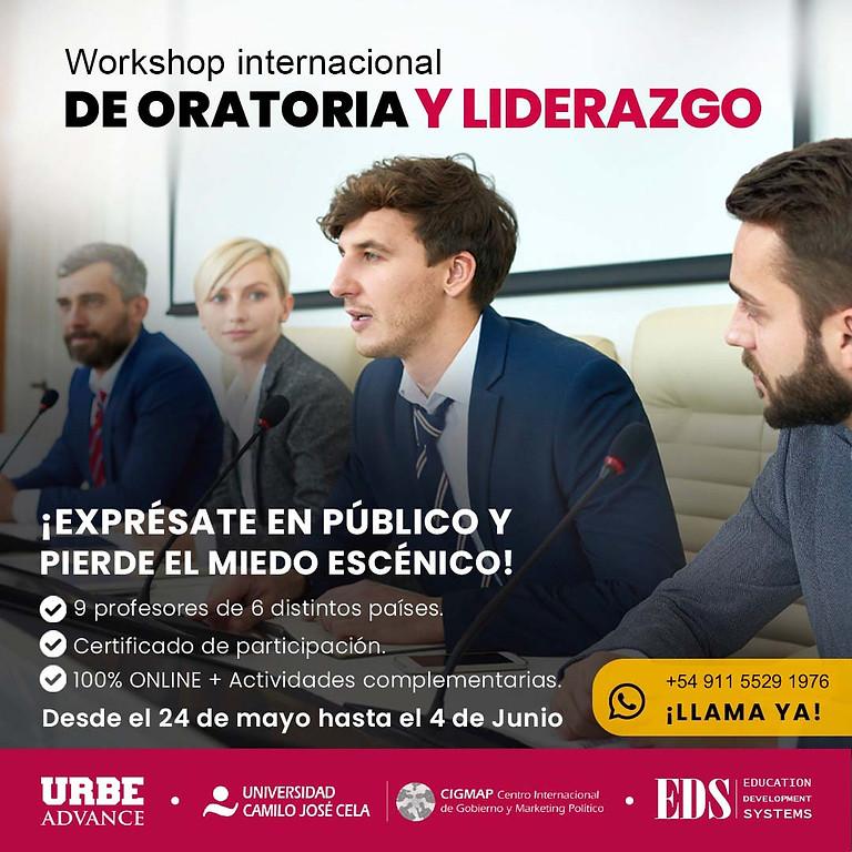 Workshop Internacional de Oratoria y Liderazgo