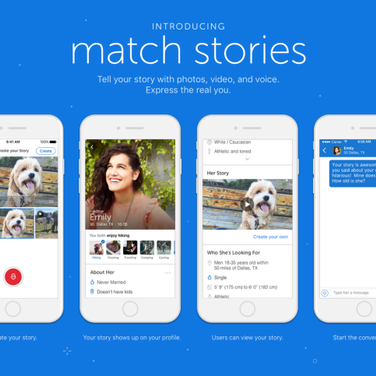 PR for Match.com, the storymaker