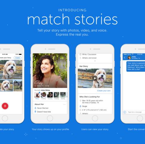PR para Match.com, el hacedor de historias