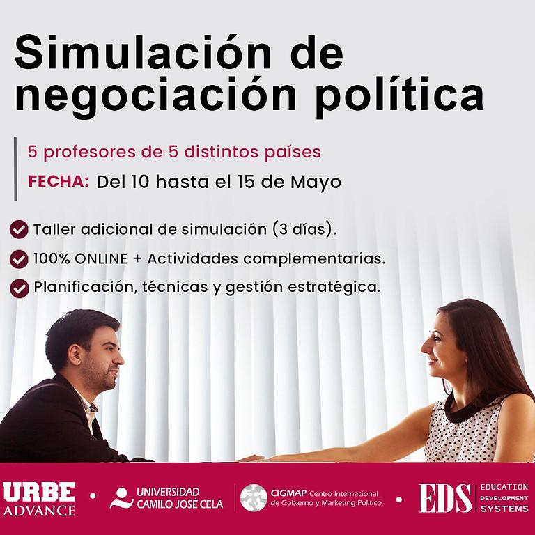 Workshop internacional Simulación de Negociación Política