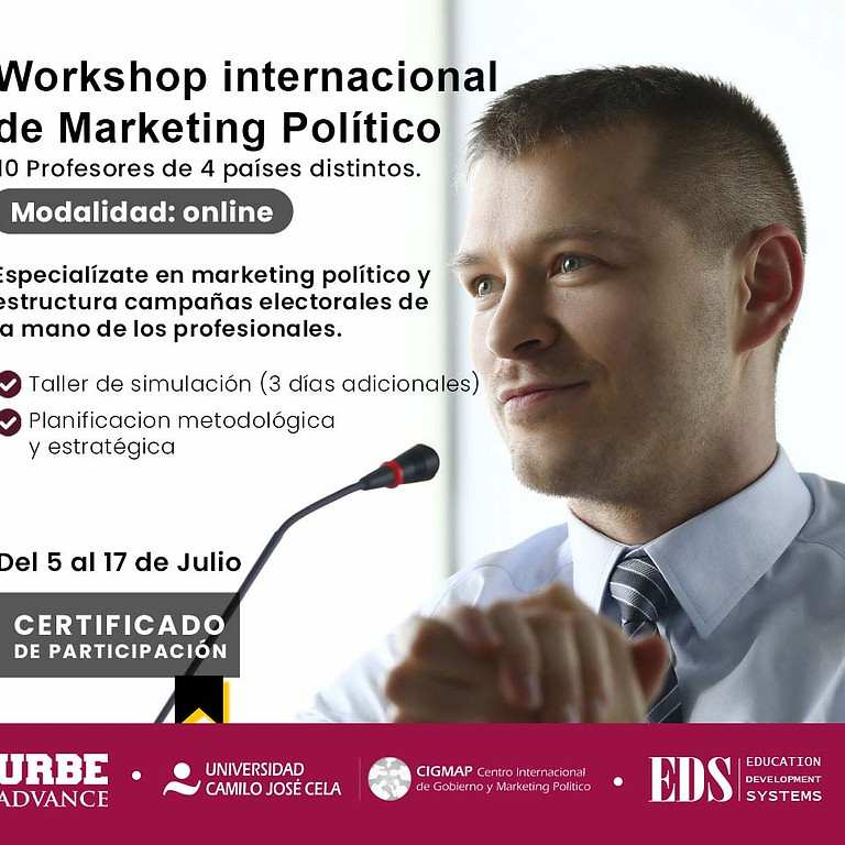 Workshop Internacional de Marketing Político
