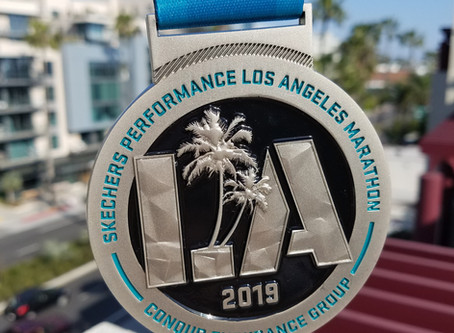 Los Angeles Marathon.
