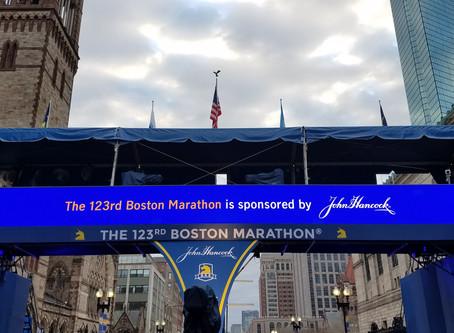 The 123rd Boston Marathon.