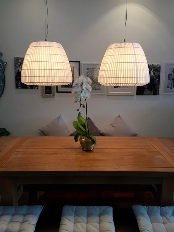 Beautiful hanging lamps