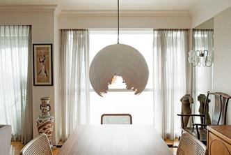 Broken egg shell hanging lamp