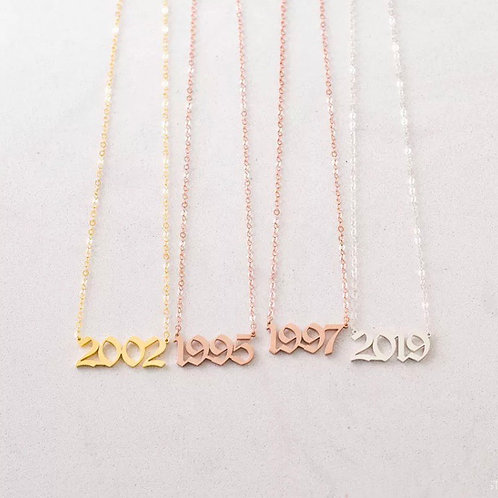 Rep Yo Year Necklace