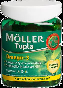 Moller  Omega-3 Tupla