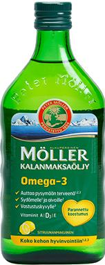 Moller  Omega-3 Kalanmaksaoljy