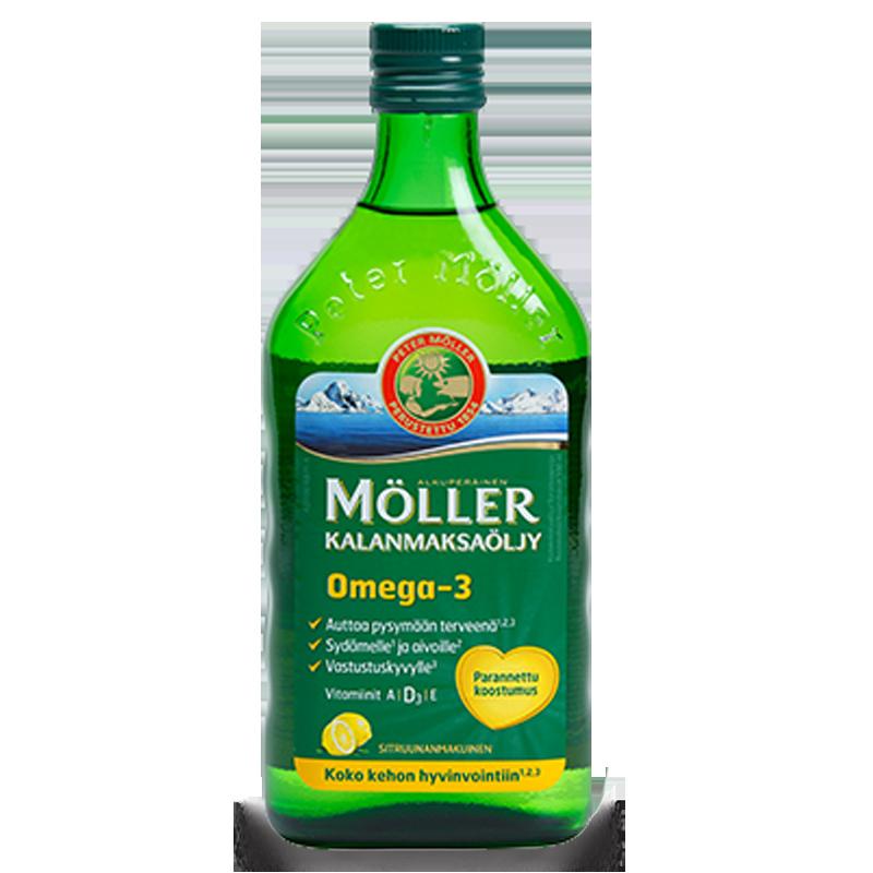 Moller's Omega-3 лимон 500