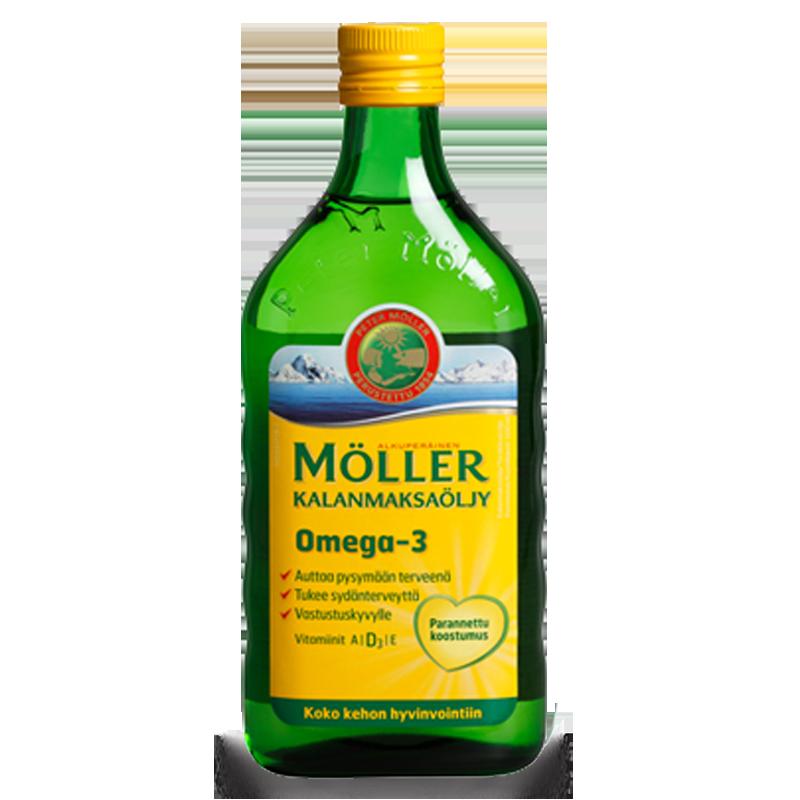 Moller's Omega-3 натуральный 500