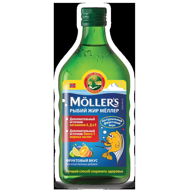 Moller's Omega-3 тутти-фрутти