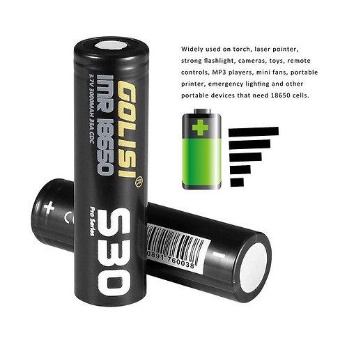 Batería Golisi 18650 - 3000 mAh