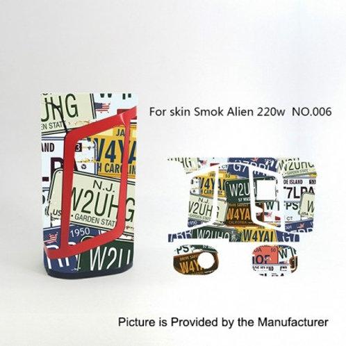 SKIN SMOK ALIEN 220 (varios modelos)