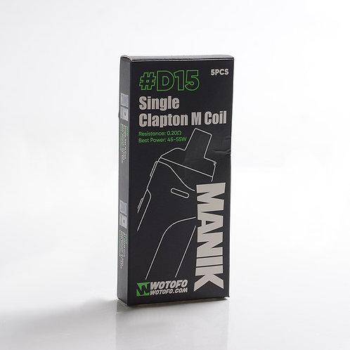 COIL MANIK D15 0.20