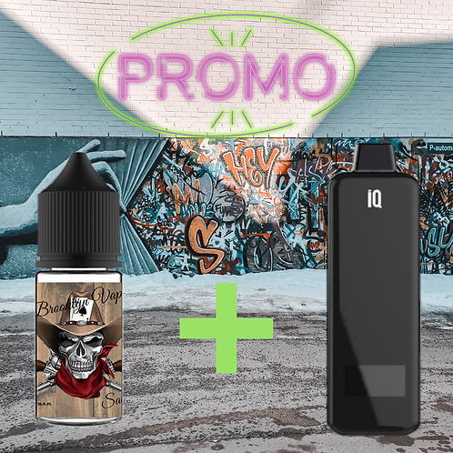 """PROMO"" IQ POD + 1 SALT BROOKLYN"