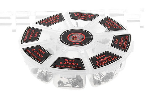 Authentic MKWS Kanthal A1 Pre-Coiled Wires for RBA Atomizers