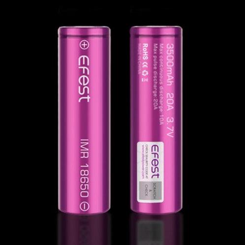 Baterias Efest 3500 mah 20A 3.7v
