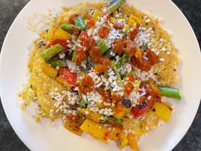 Quinoa Veggie Omelette
