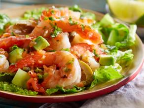 """Shrimp """"Campechana"""" Salad"""