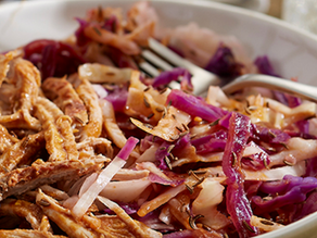 Slow Cooker Pork BBQ with Tangy Cabbage Slaw