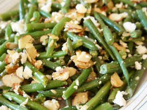 Green Bean Salad With Toasted Almonds and Feta