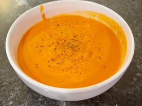 Sweet Potato & Bell Pepper Soup
